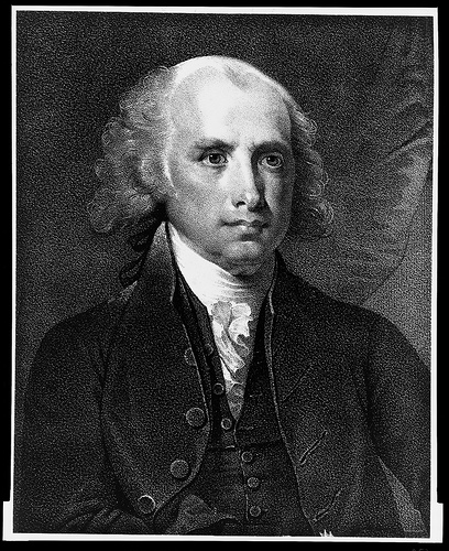 James Madison - public domain - Library of Congress