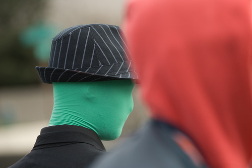 Anonymous - photo by Matt Westervelt