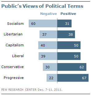 Pew Research Center - Public's Views of Political Terms
