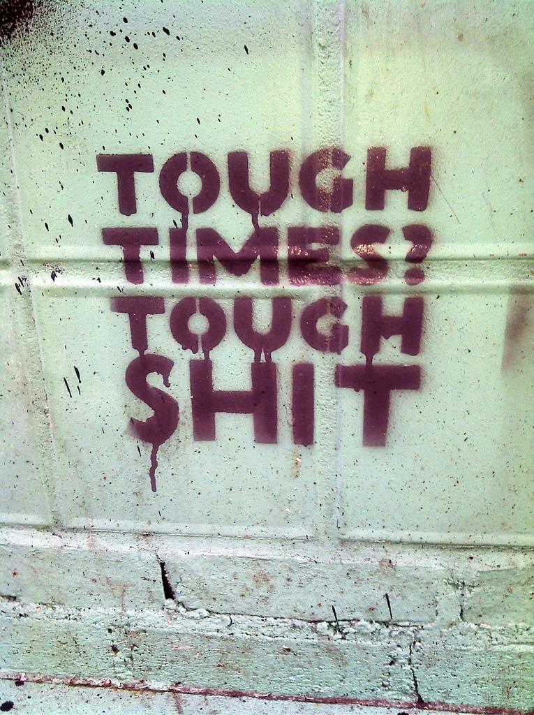 Tough Times? Tough Shit: The Republican philosophy