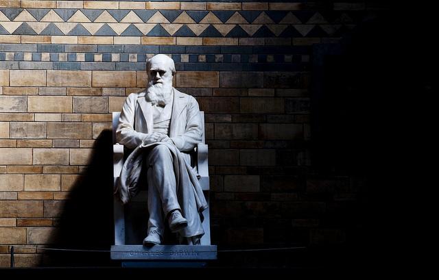 Charles Darwin - photo by C.G.P. Grey