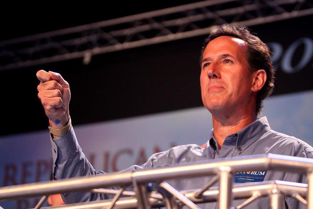 Rick Santorum - photo by Gage Skidmore