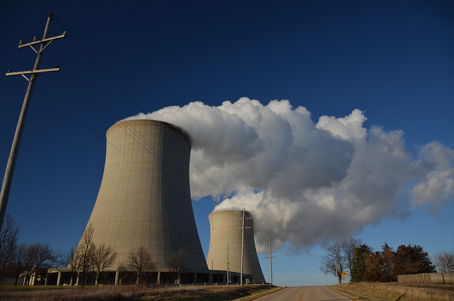 Nuclear Cooling Towers - photo by Michael Kappel
