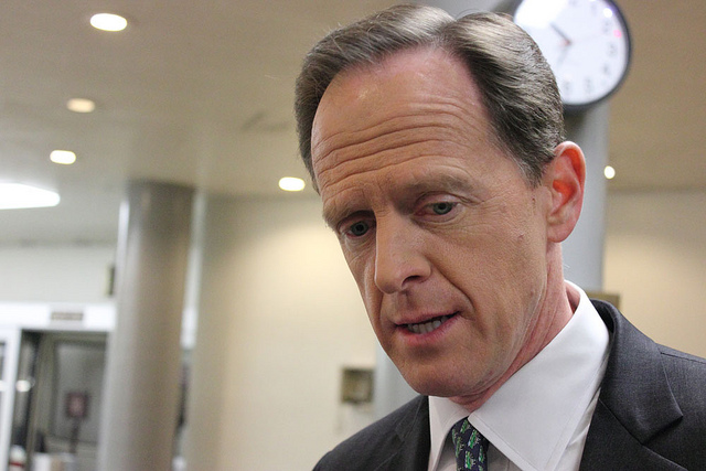 Senator Pat Toomey - photo by Medill DC