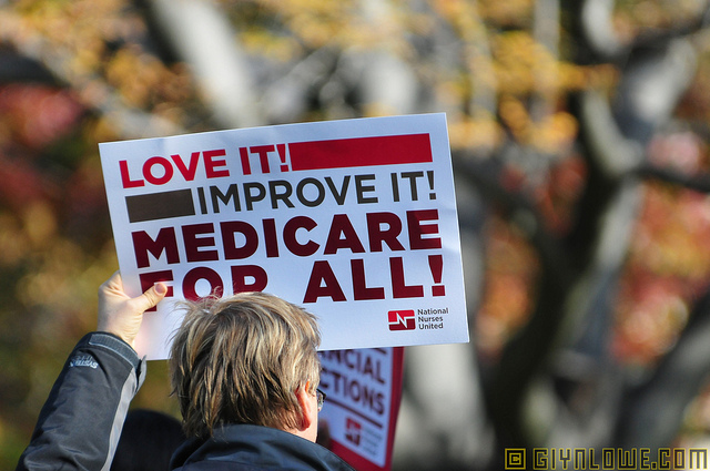 Medicare For All - photo by Glyn Lowe Photos