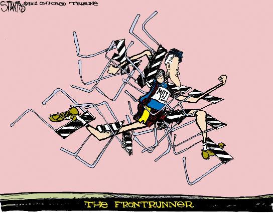The Frontrunner by Scott Stantis