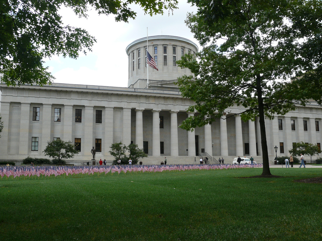 Ohio State House - photo by marada