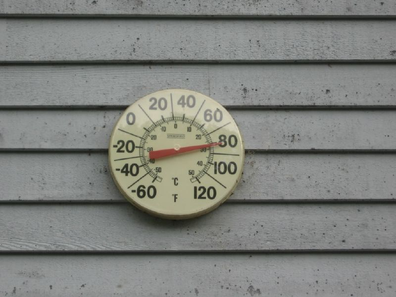 Thermometer - photo by Kati Szalay