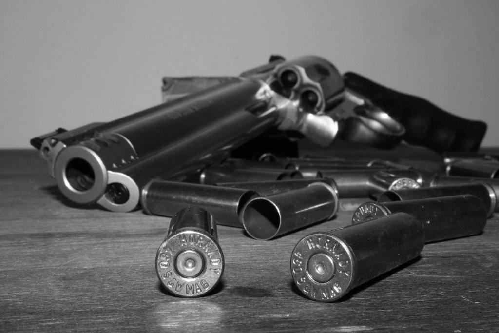 gun and bullets - photo by Greta Ceresini
