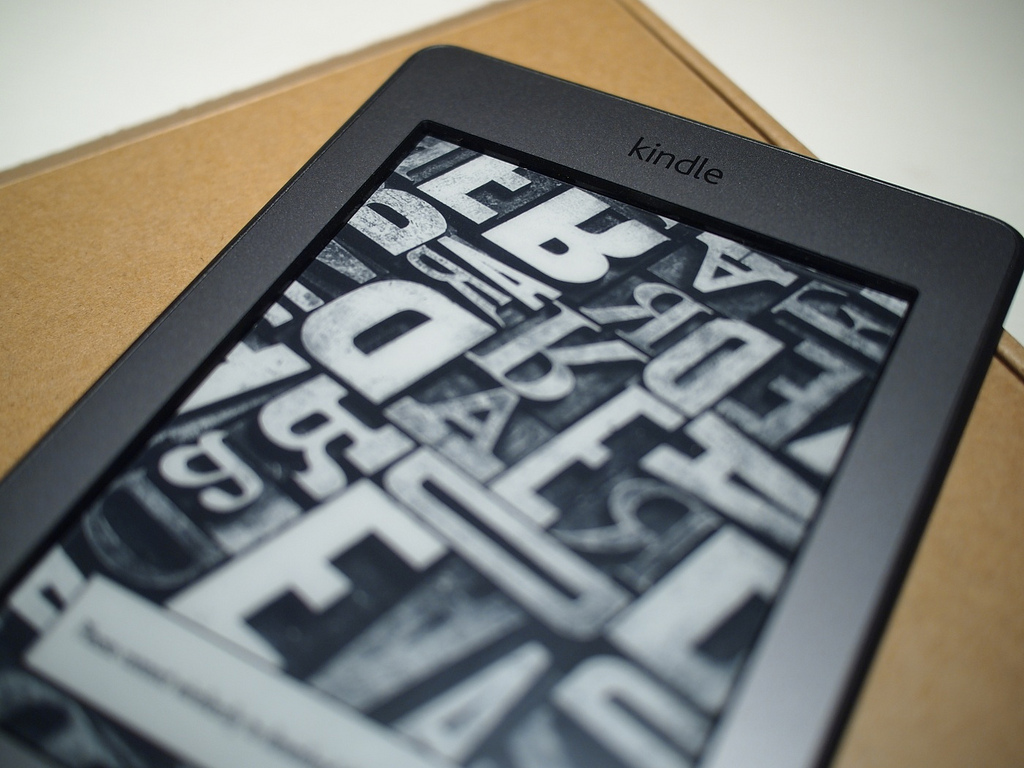 Kindle Touch - photo by kun530