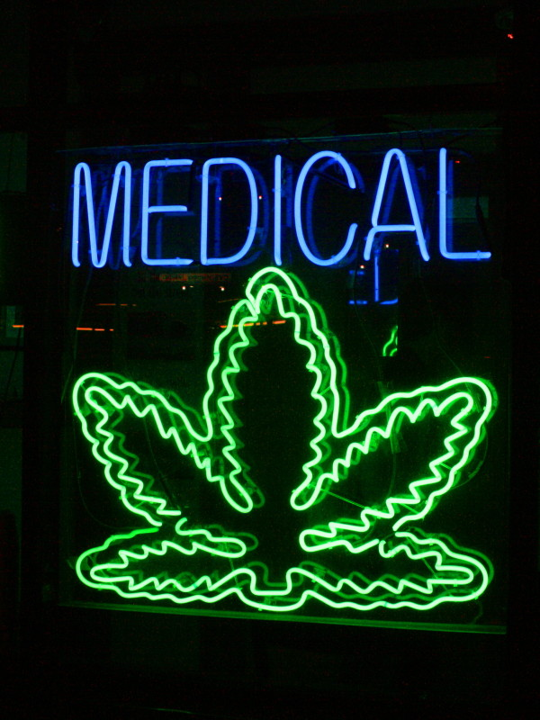 Medical marijuana - photo by Chuck Coker