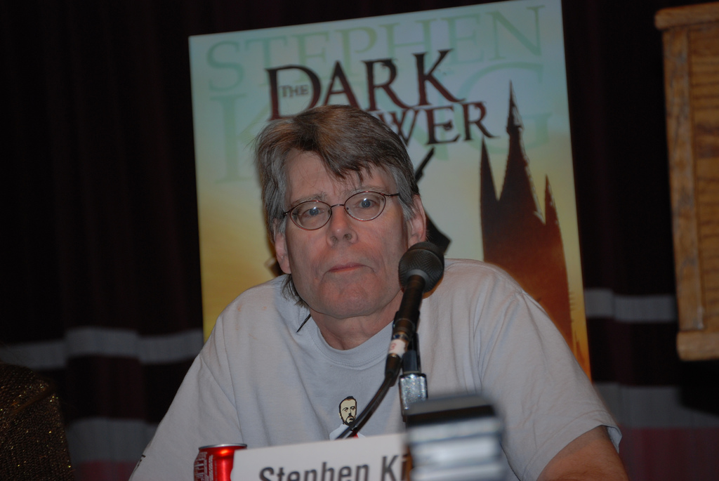Stephen King - photo by Demetri Parides