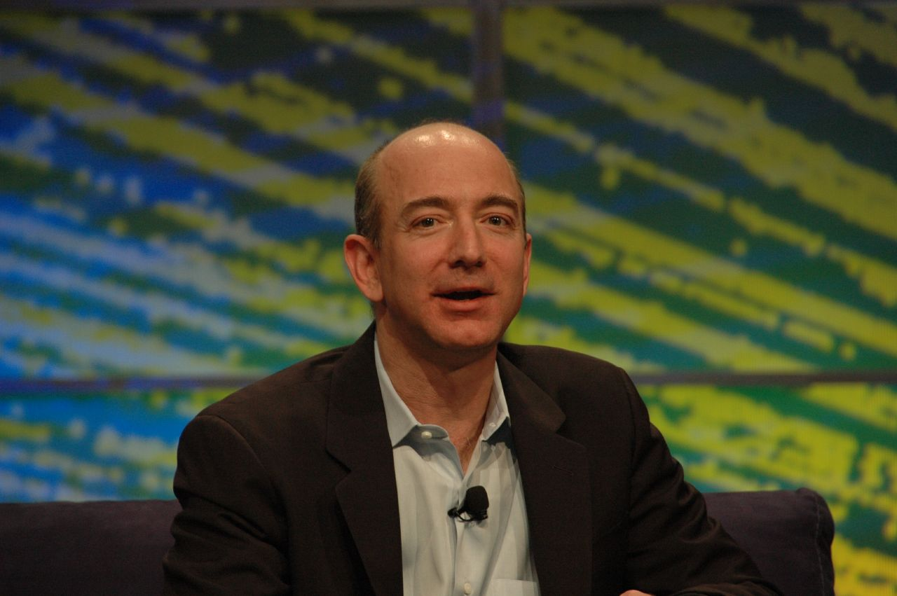 Jeff Bezos - photo by Dan Farber