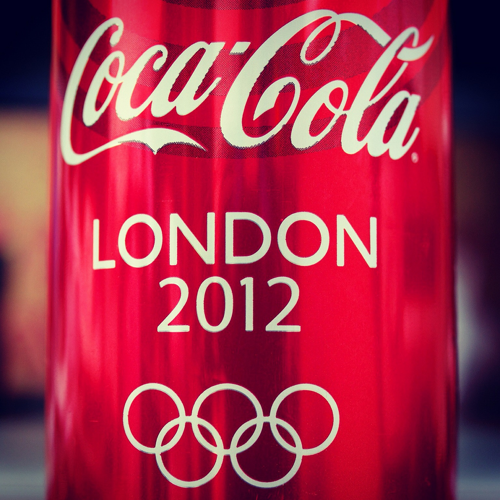 A few thoughts on the Olympics and our corporate sponsor ...