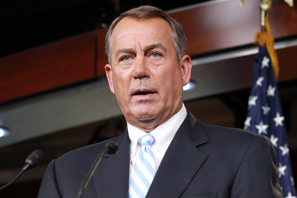 House Speaker John Boehner - photo by Talk Radio News Service