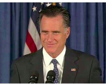 Mitt Romney - smirk 2