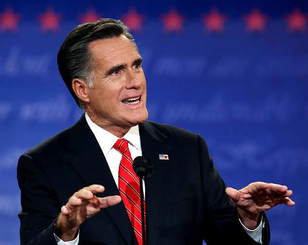 Mitt Romney - 2012 - First presidential debate - photo by Justin Sullivan