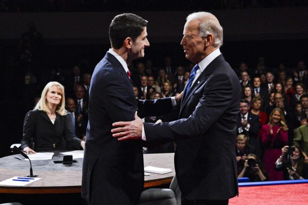 Vice Presidential Debate 2012 - MICHAEL REYNOLDS / EPA