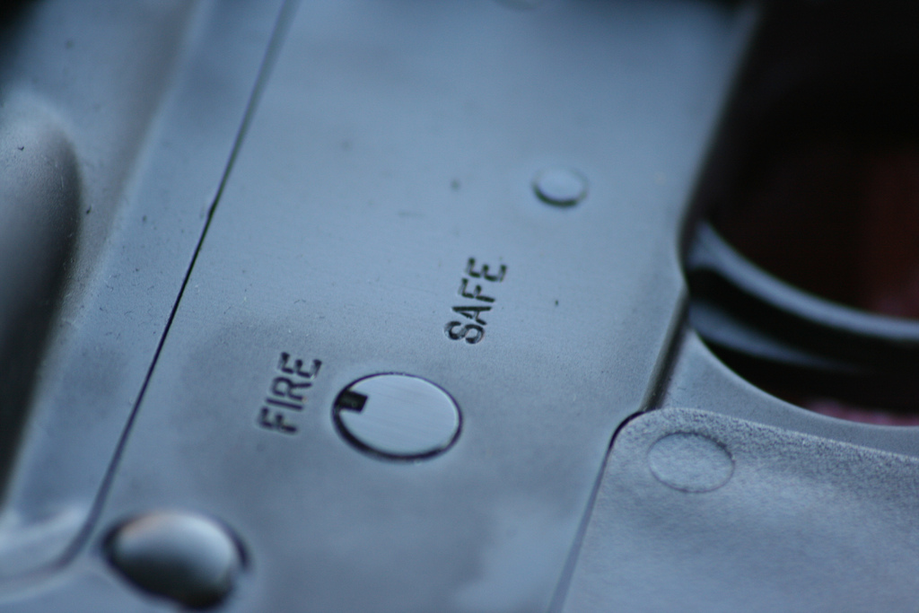 Gun safety - photo by Ray Dehler