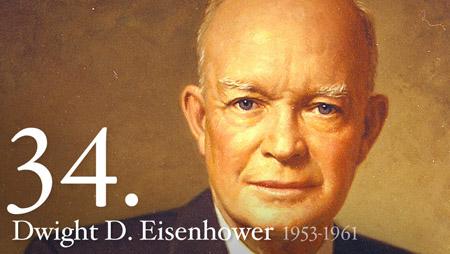 Dwight Eisenhower - 34th president - whitehouse.gov