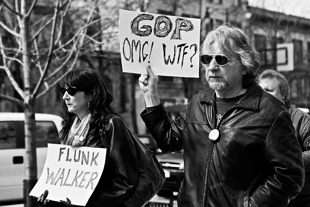 GOP OMG! WTF? - photo by Rob Chandanais