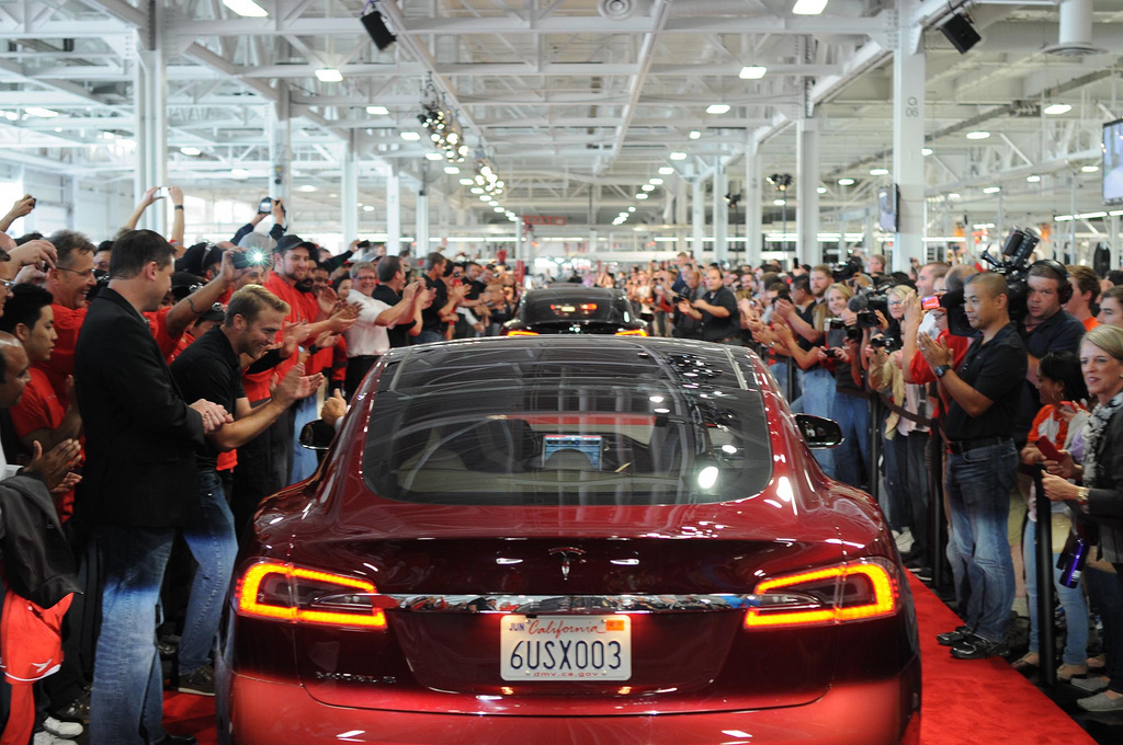 Tesla Model S - photo by Steve Jurvetson
