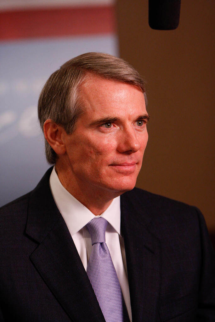 Ohio Republican Senator Rob Portman -  photo by
