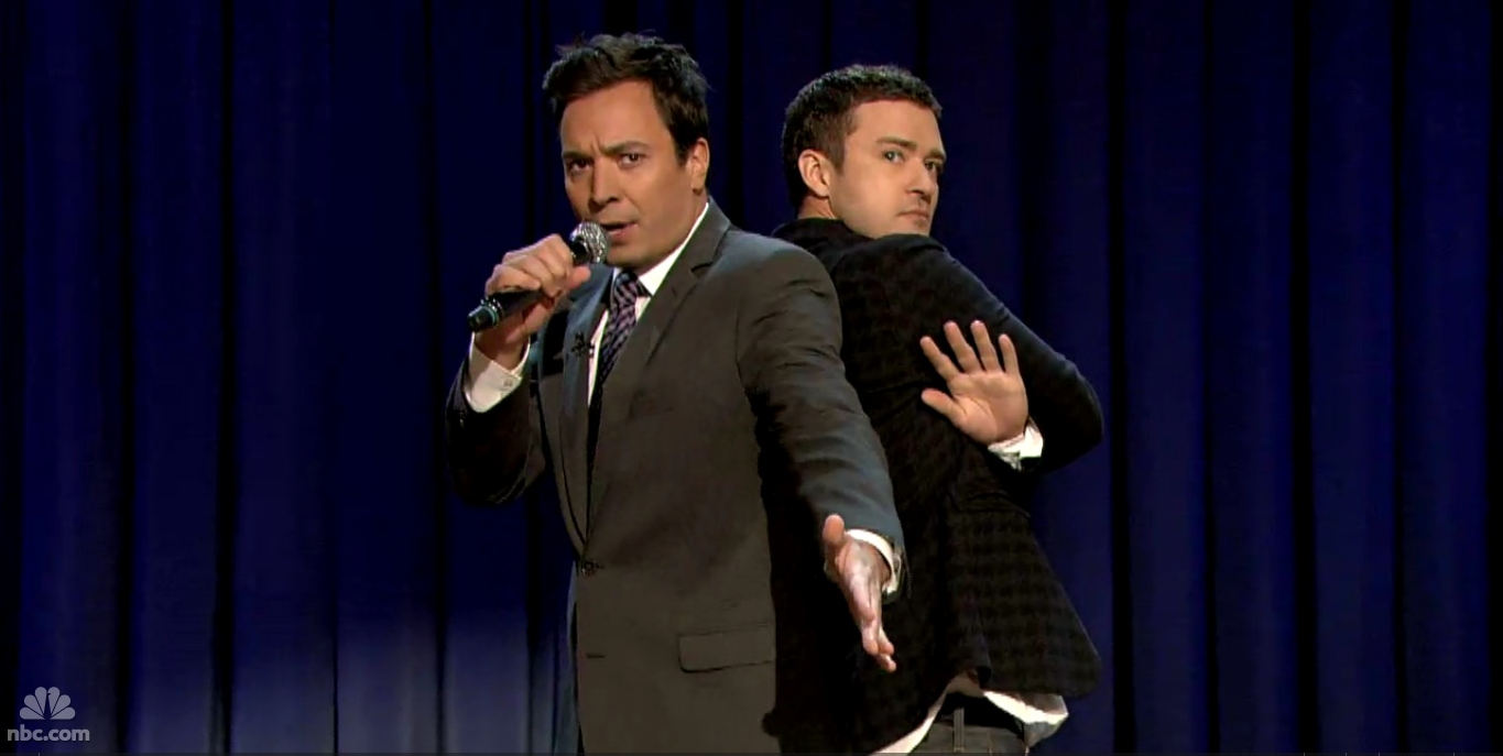 Jimmy Fallon and Justin Timberlake - Late Night on NBC
