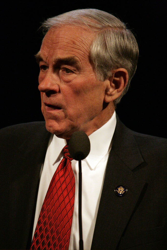 Ron Paul - photo by skitzianist
