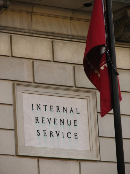 Internal Revenue Service - photo by Alyson Hurt