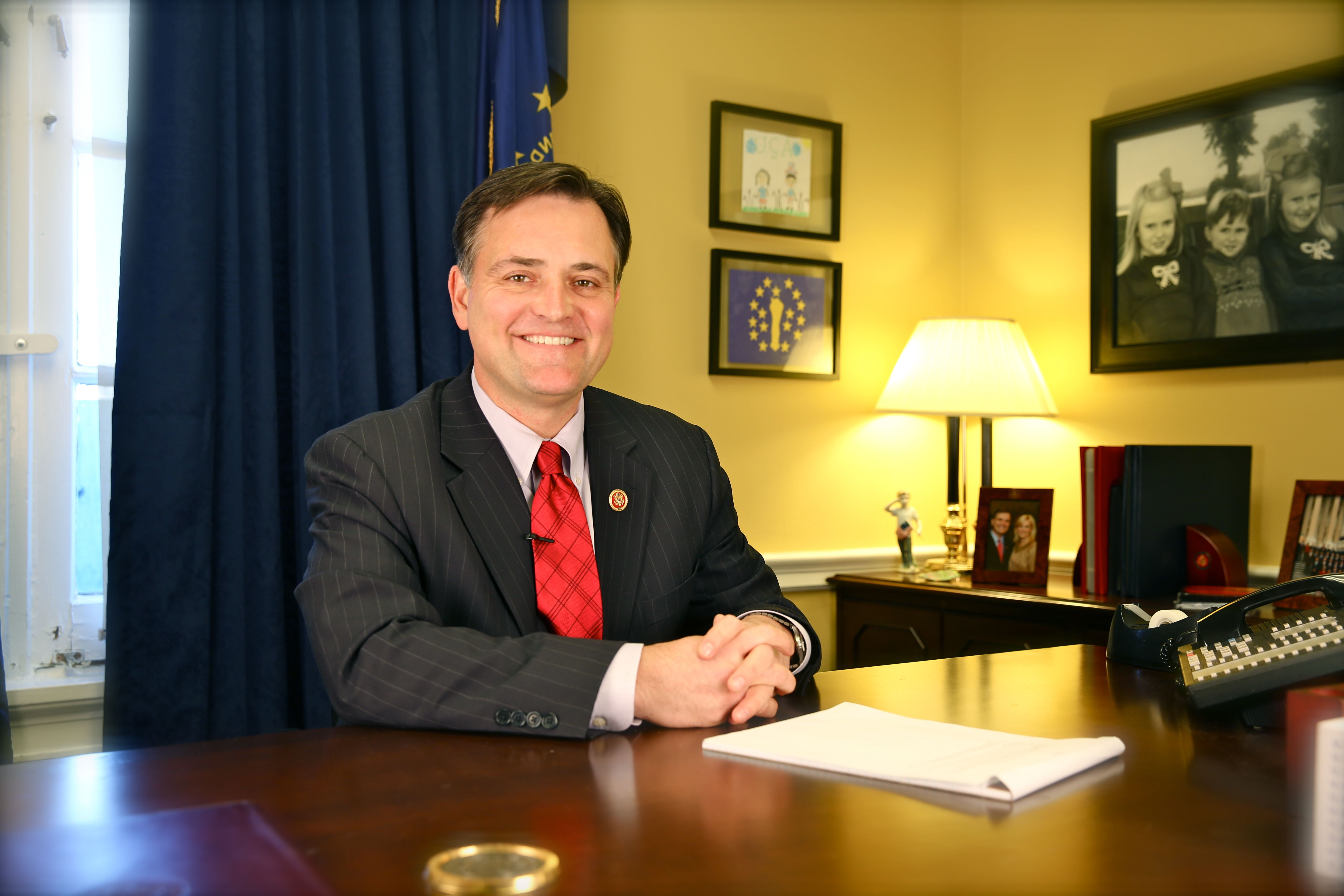 Republican Representative Luke Messer - Indiana