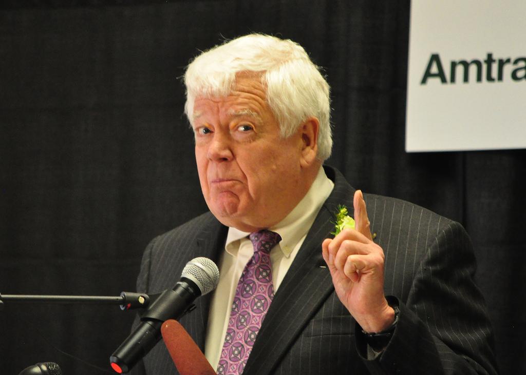 Congressman Jim McDermott - photo by WSDOT