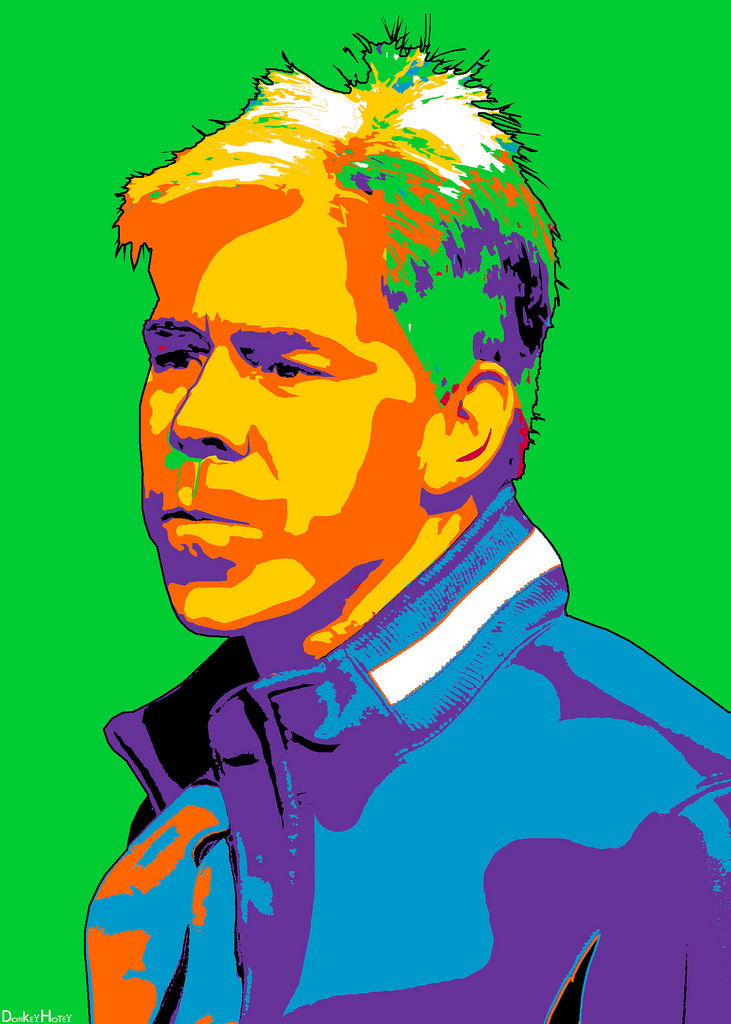David Gregory - Meet the Press - image by DonkeyHotey