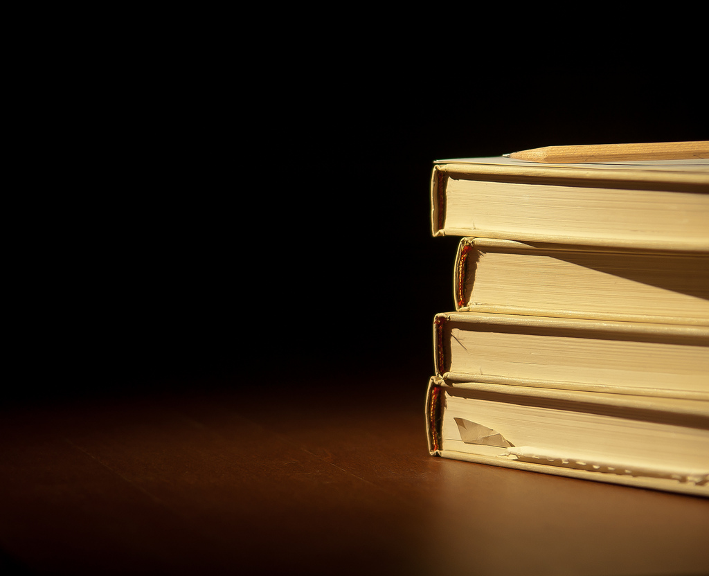 Books - photo by Chris