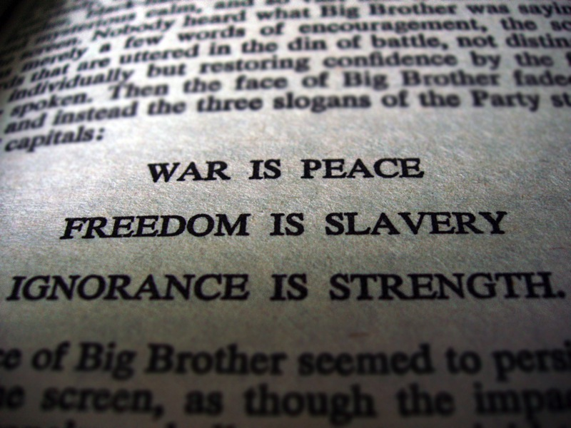 1984 war is peace
